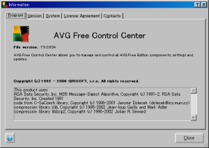 AVG Anti-Virus Free 7.5