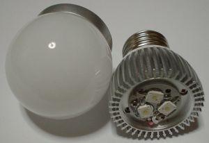 3W 白色 LED電球