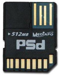 MEDIAFO PSdカード 512MB (PSD512MH)